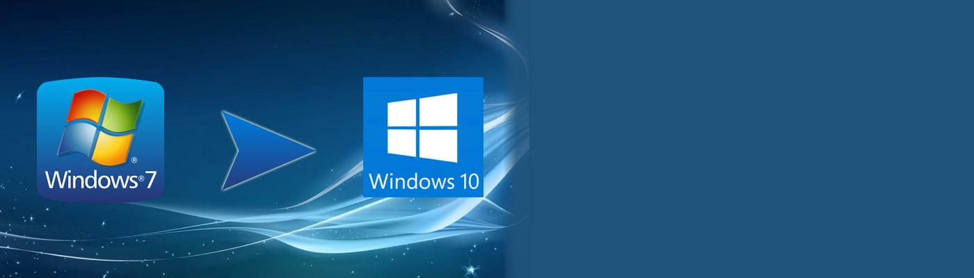 Nu är det hög tid att uppgradera ifrån Windows 7 till 10!